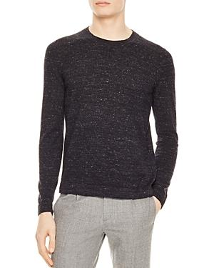 Sandro Cal Sweater In Charcoal Gray