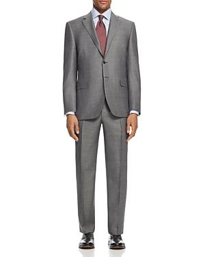 Canali Diamond Weave Classic Fit Suit In Gray