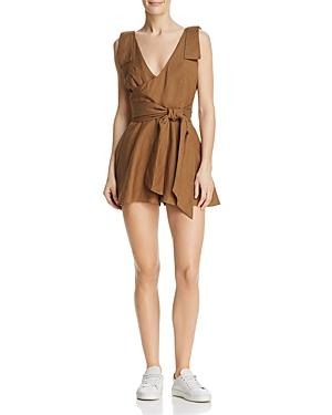 C/meo Collective Vision Of You Romper In Taupe