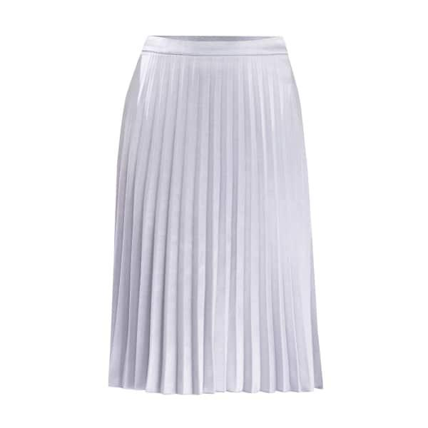 Paisie Pleated Skirt In Light Blue