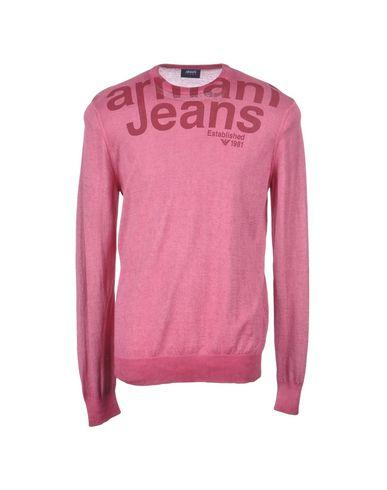 Armani Jeans Sweater In Pastel Pink