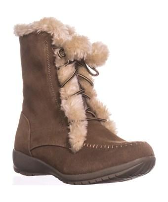 Sporto Maggie Lined Winter Boots, Chestnut In Brown
