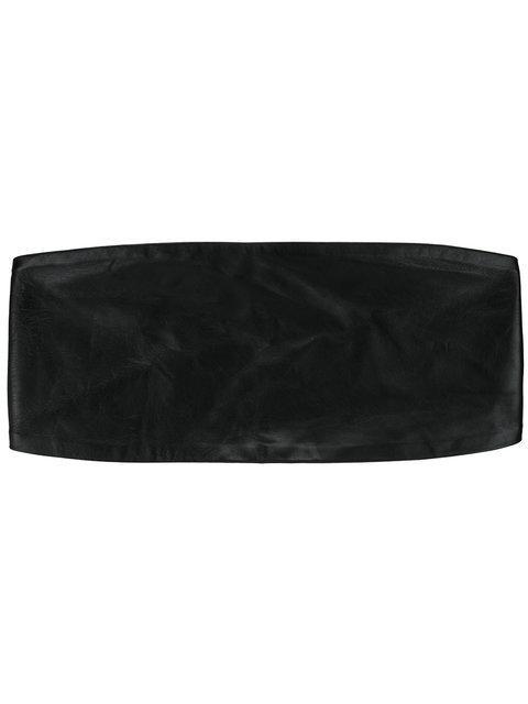 Max Mara Bustier Belt In Black