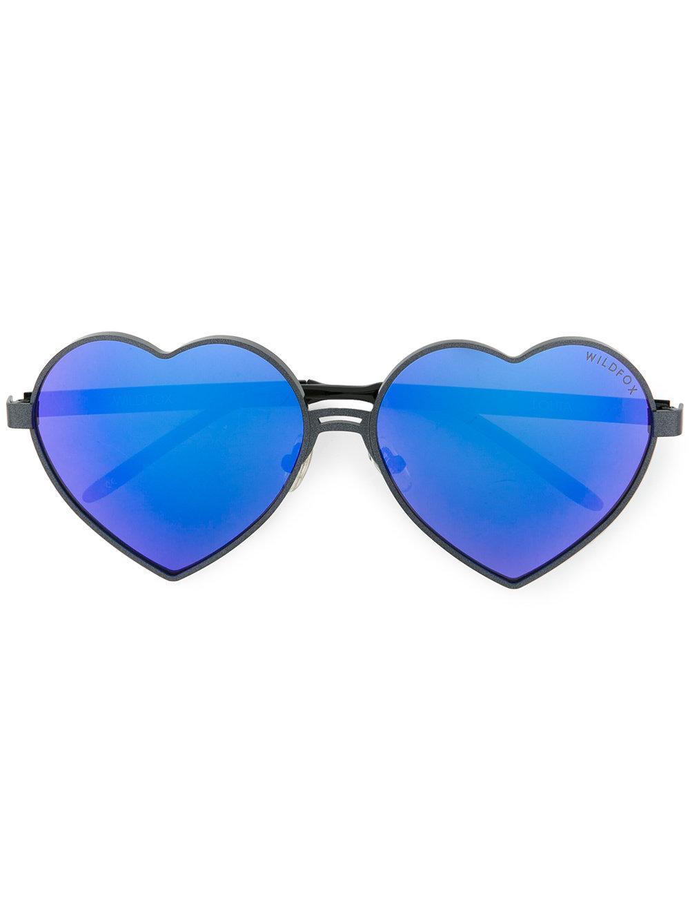 Wildfox Heart Shaped Sunglasses
