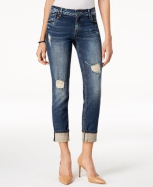 Kut From The Kloth Catherine Ripped Boyfriend Jeans In Impressed