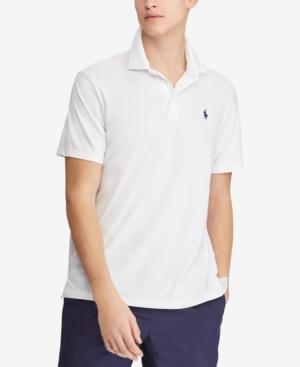 Polo Ralph Lauren Men's Classic Fit Performance Polo In Pure White