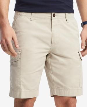 """Tommy Hilfiger Men's 10"""" Cargo Shorts, Created For Macy's In Drizzle"""