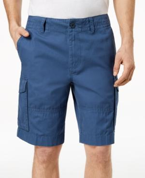 "Tommy Hilfiger Men's 10"" Cargo Shorts, Created For Macy's In Bayhead Blue"