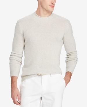 Polo Ralph Lauren Men's Cashmere Sweater In Grey