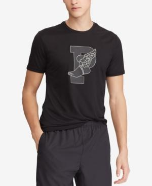 Polo Ralph Lauren Men's P-wing Active Fit Performance T-shirt In Polo Black