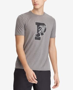 Polo Ralph Lauren Men's P-wing Active Fit Performance T-shirt In Foster Grey Heather