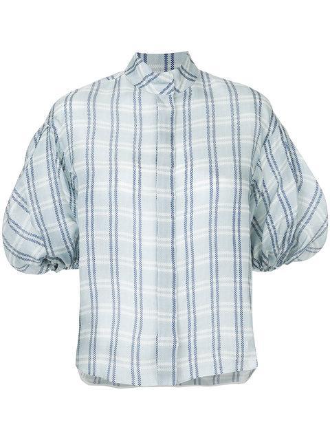 Dice Kayek Checked Button Shirt