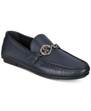Roberto Cavalli Men's Pebbled Drivers Men's Shoes In Black