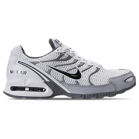 Nike Men's Air Max Torch 4 Running Sneakers From Finish Line In White/anthracite