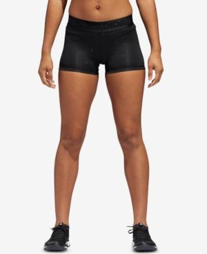 Adidas Originals Adidas Stretch Shorts In Black Print