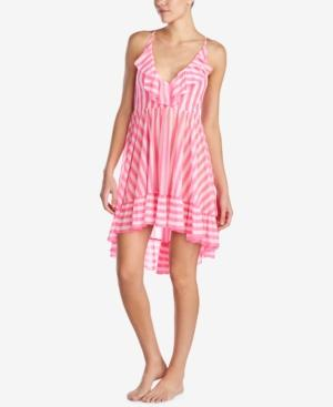 Betsey Johnson Ruffled Nightgown In Multi