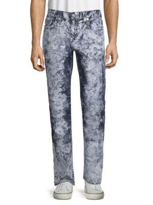 True Religion Axel Straight-leg Jeans In Etid Elect