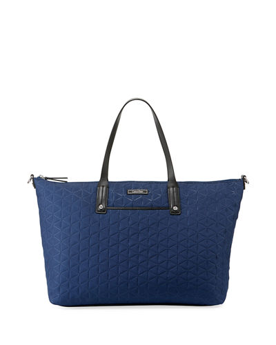 Calvin Klein Athleisure Extra-Large Tote In Navy