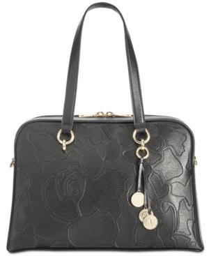 Dkny Sara Medium Satchel, Created For Macy's In Black