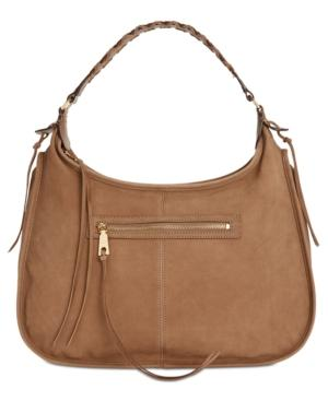 Dkny Shanna Hobo, Created For Macy's In Taupe