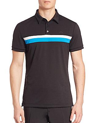 J. Lindeberg Golf Noah Slim Tx Jersey Polo Shirt