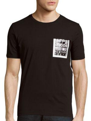 Prps Graphic Chest Pocket Shirt In Black