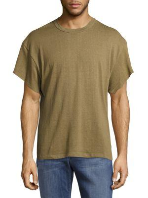 Mr. Completely Hemp Gym Cotton Tee In Olive
