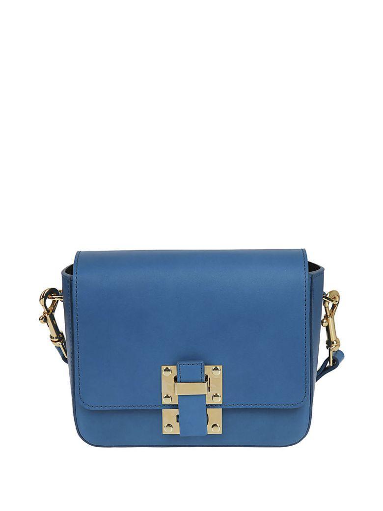 Sophie Hulme Small Quick Shoulder Bag In Blue