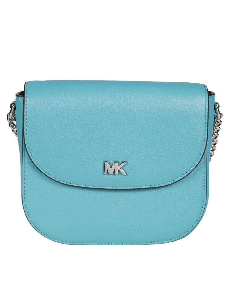 84a8e1dcd346 Michael Kors Mott Dome Shoulder Bag In Tile Blue | ModeSens