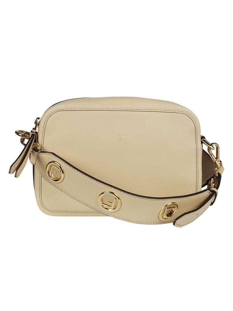 Fendi Camera Case Shoulder Bag In Amido
