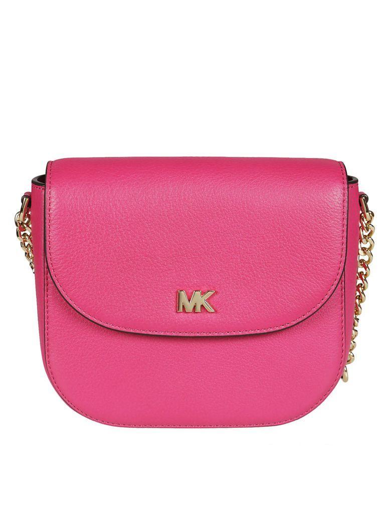 Michael Kors Dome Shoulder Bag In Ultra Pink