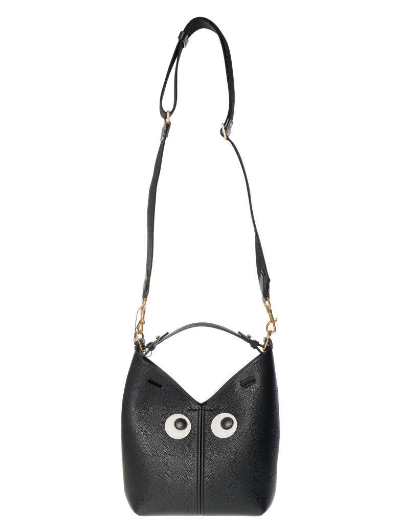 Anya Hindmarch Eyepatch Shoulder Bag In Black