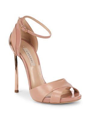 Casadei Tiffany Leather Stiletto Pumps In Pandora