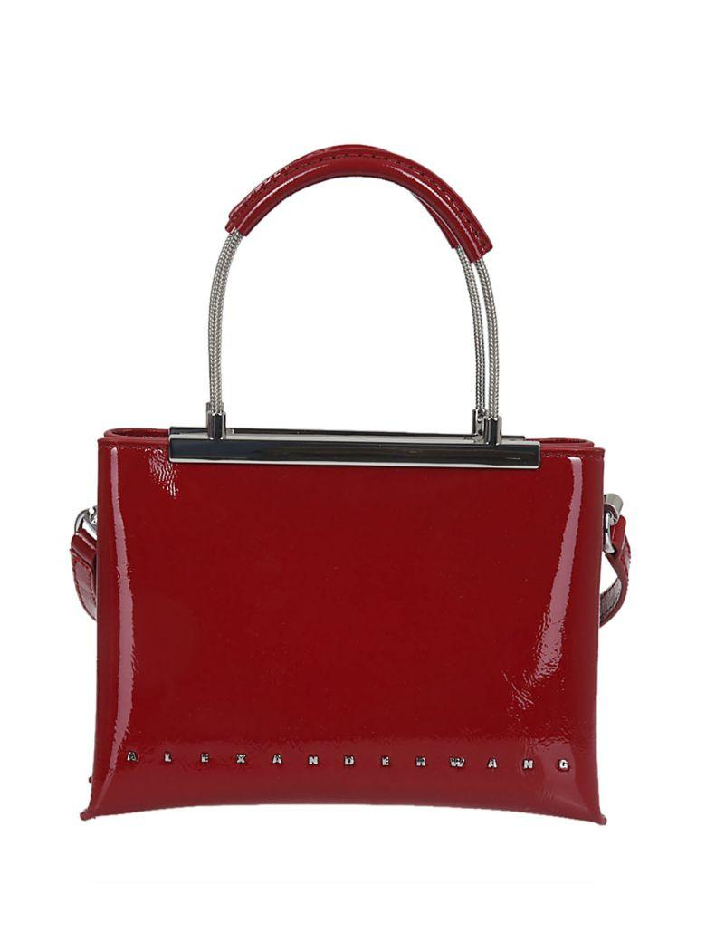 Alexander Wang Dime Small Bag In Red Paint