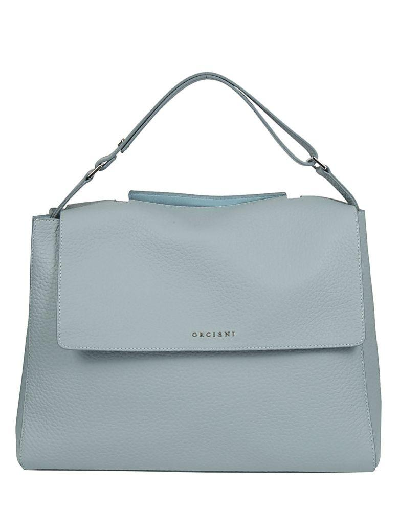 Orciani Classic Large Tote In Anice