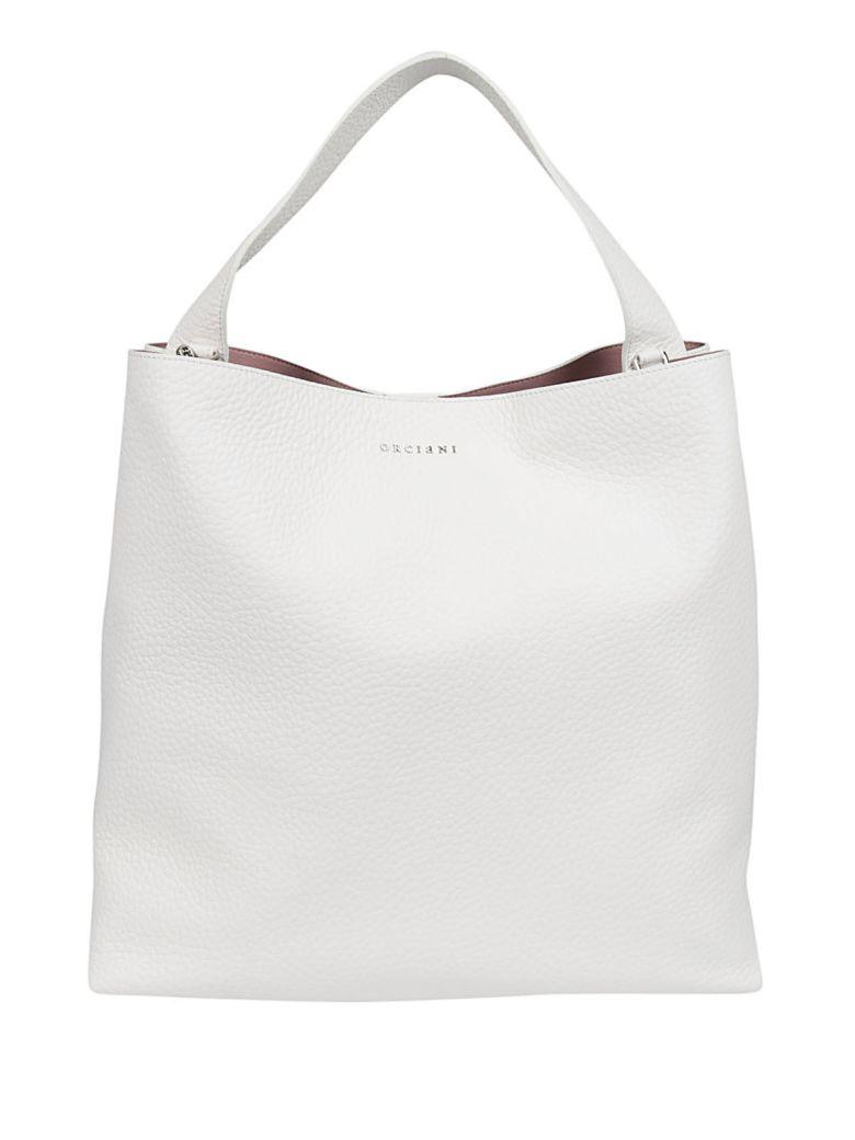 Orciani Soft Tote In White