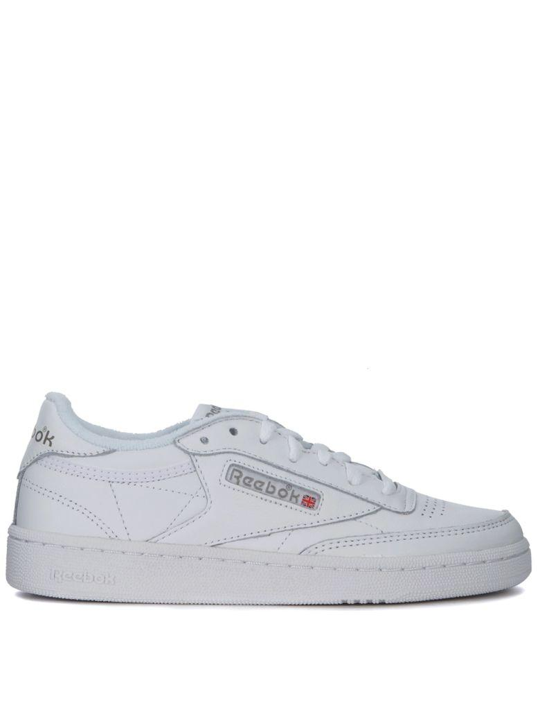 Reebok Club 85 Archive White Leather Sneakers In Bianco