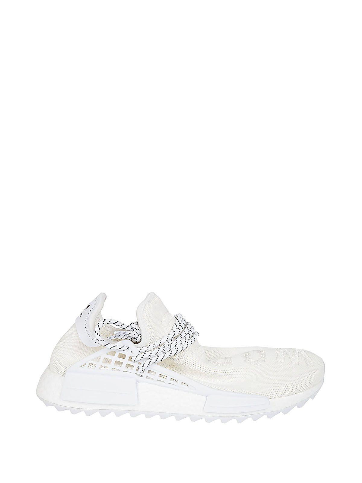 Adidas Originals By Pharrell Williams Adidas By Pharrell Williams Human Race Nmd Sneakers In White