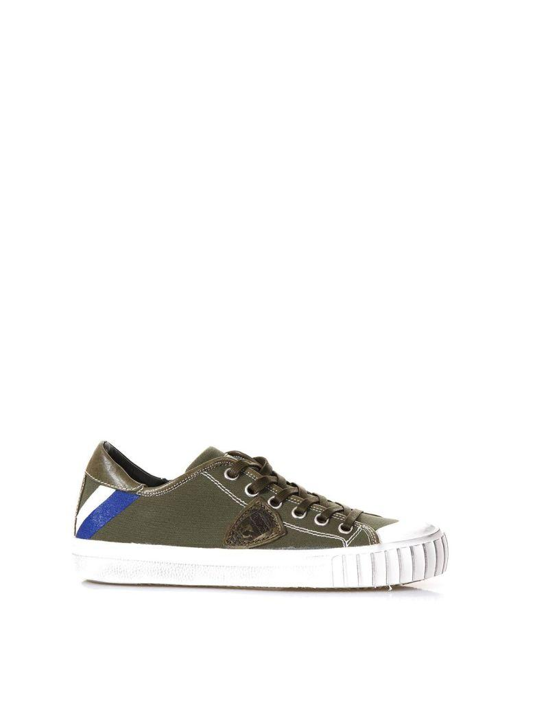 Philippe Model Gare Lu Military Sneakers In Canvas