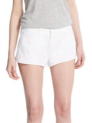 J Brand High-rise Denim Shorts In Idol