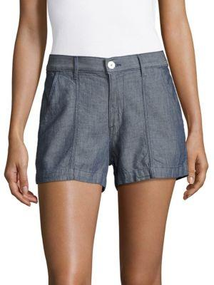 3x1 Military Cotton Shorts In Mortin