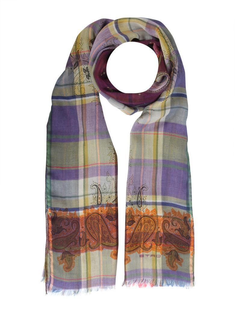 Etro Shaal-nur Scarf In Multicolor