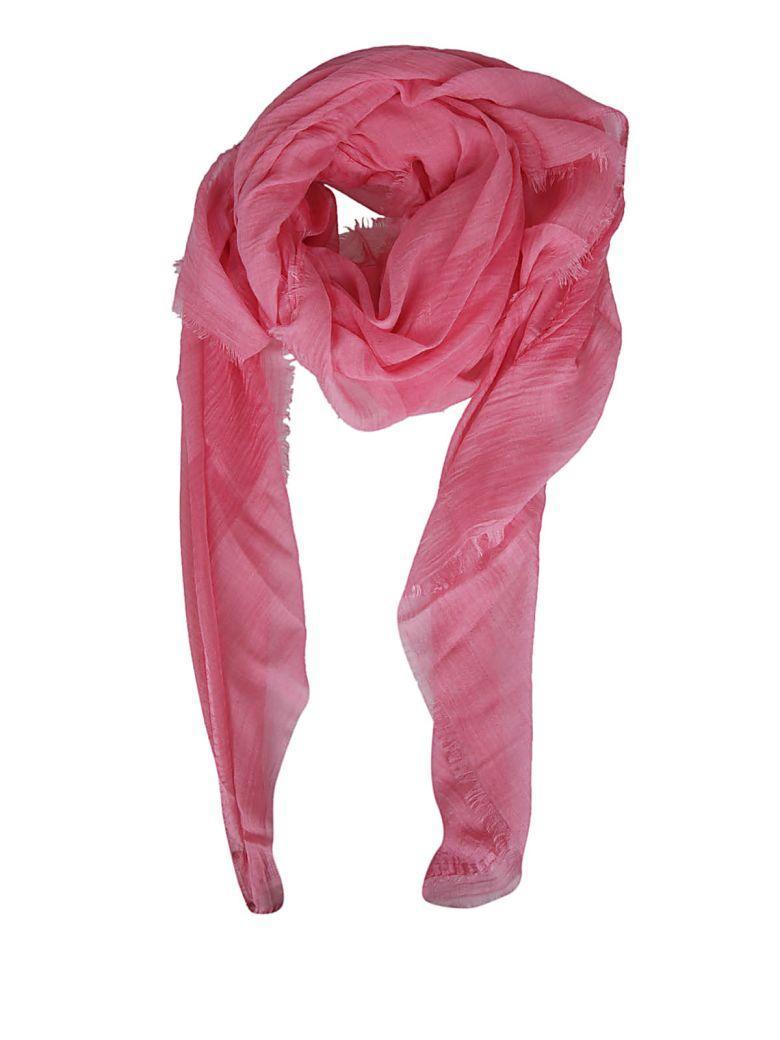 Faliero Sarti Frayed Scarf In Pink