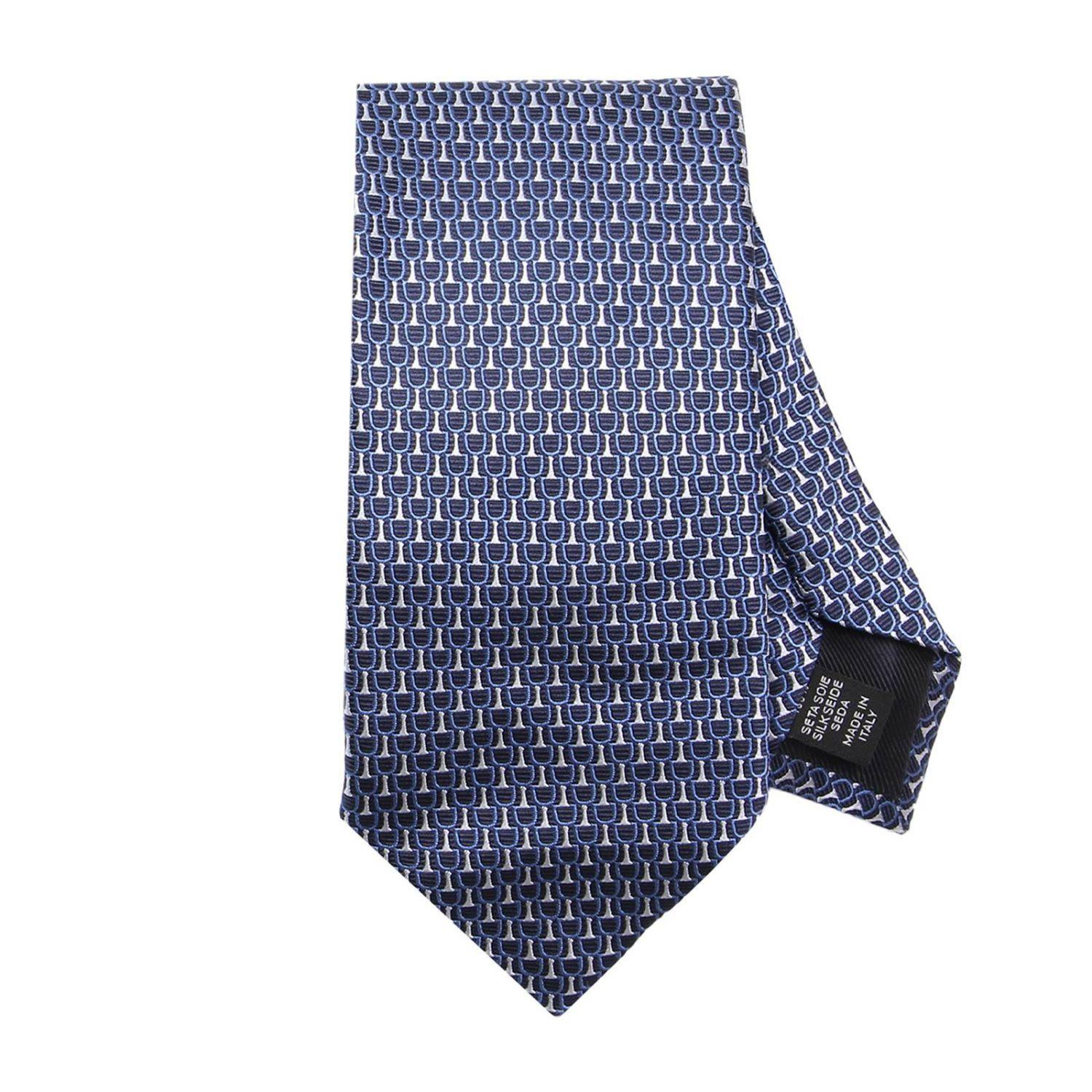Ermenegildo Zegna Tie Tie Men  In Blue