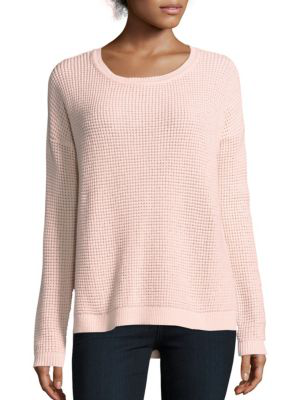 French Connection Dinka Knit Sweater In Bell Blush