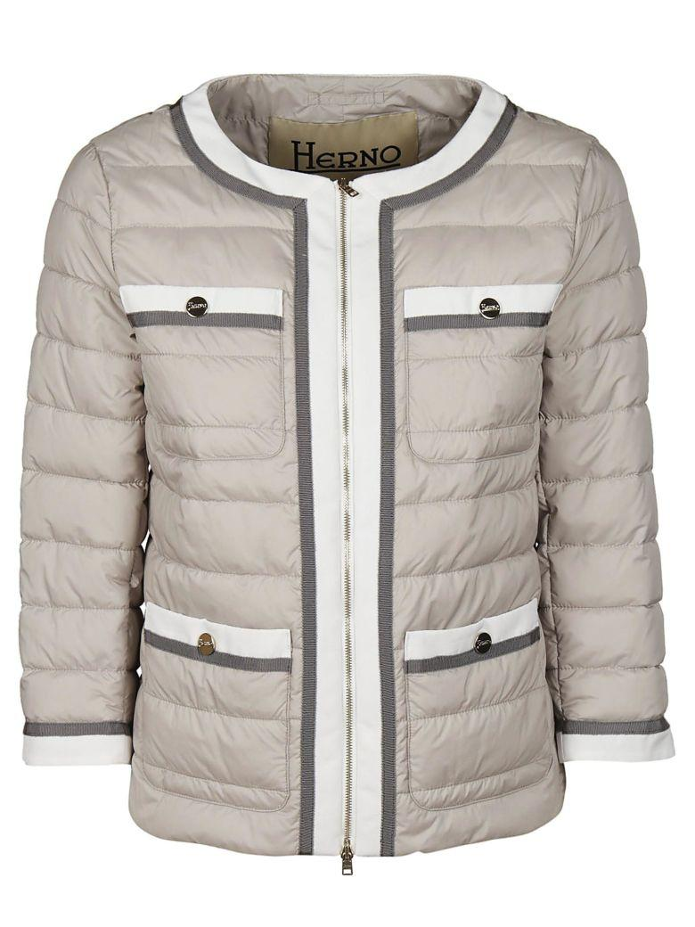 Herno Cropped Quilted Jacket
