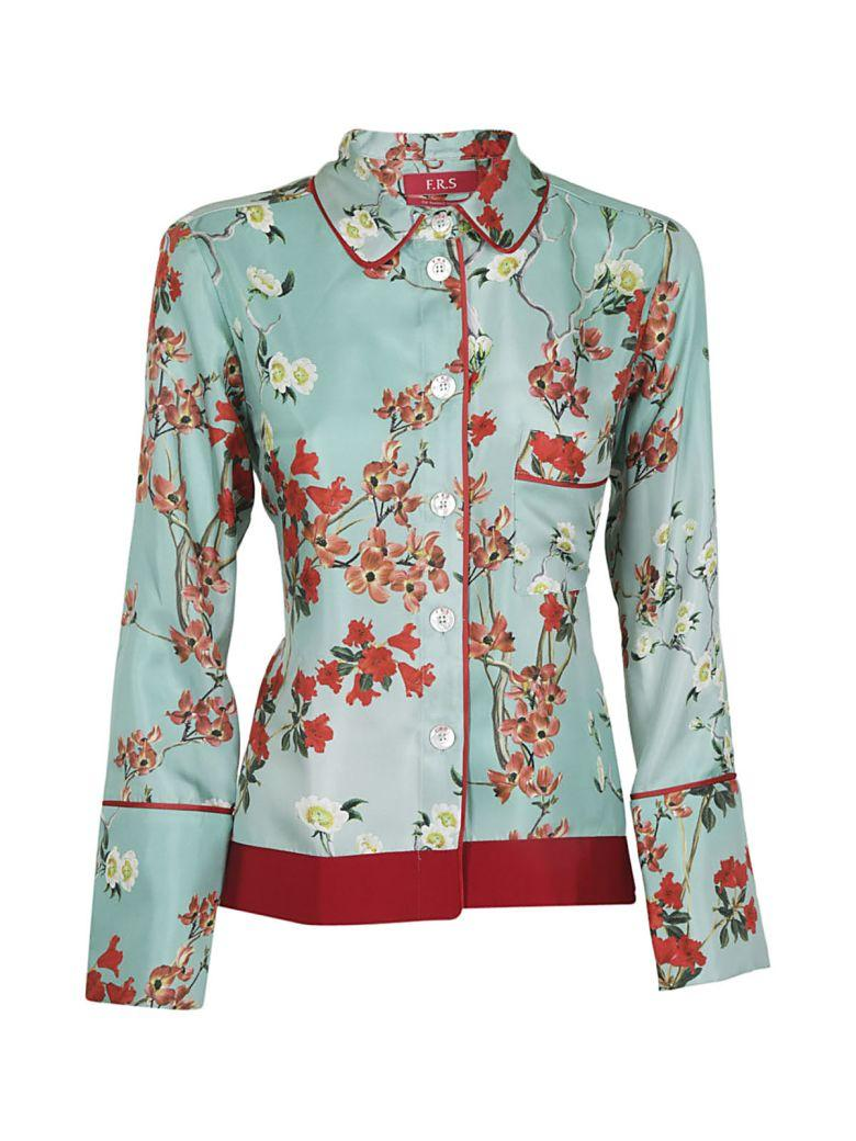 F.r.s For Restless Sleepers For Restless Sleeper Floral Shirt In Acqua