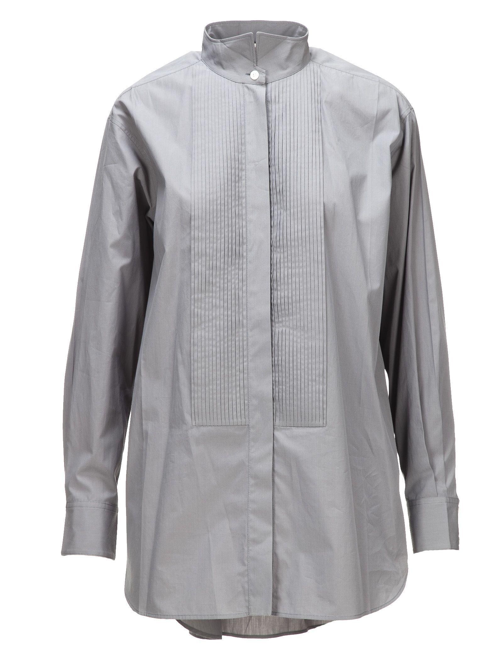 Celine CÉline Pleated Shirt In 09hk