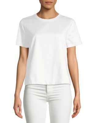 Valentino White Cotton T-Shirt