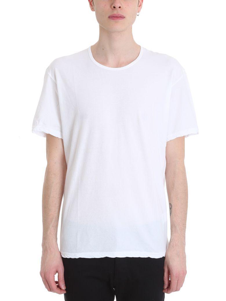 Attachment White Viscose T-shirt